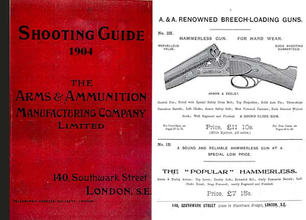 Shooting Guide 1904 - Arms and Ammu. Mfg. Company (London, England)