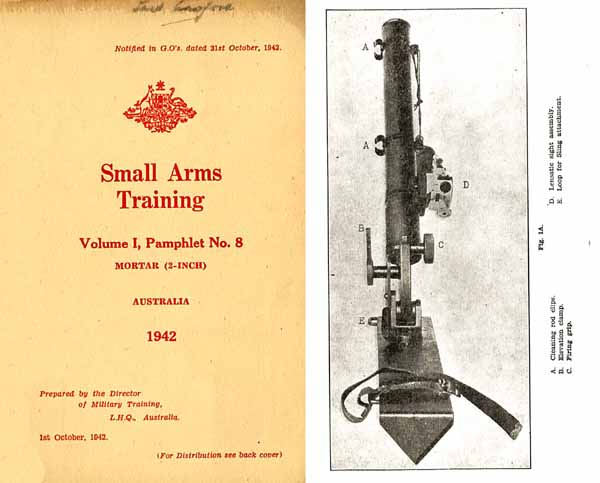 Mortar (2 inch) 1942 - Small Arms Training - Australia