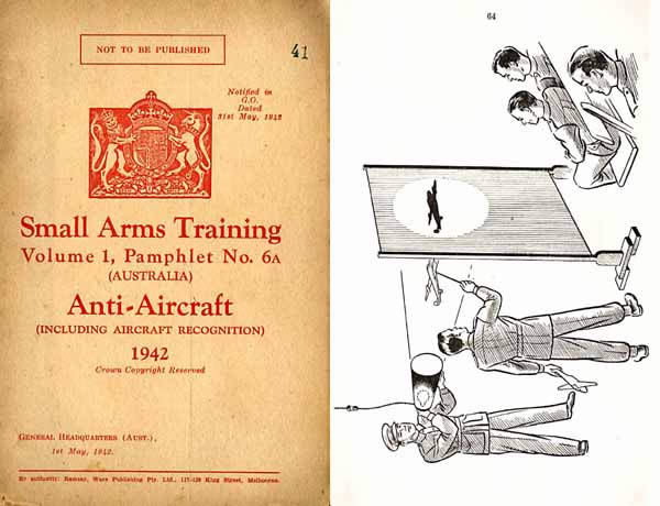 Anti-Aircraft 1942 - Small Arms Training Manual Australia