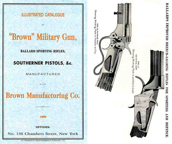 Brown 1869 Military Gun and Ballard Sporting Rifles Catalog