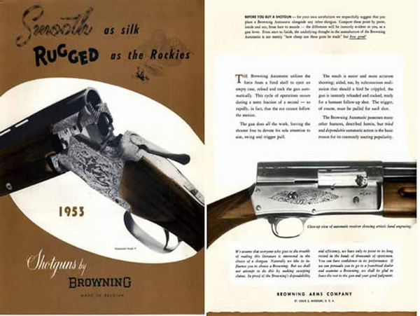 Browning 1953 FN Shotguns (Liege) Catalog - Picture 1