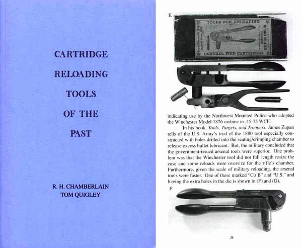 Cartridge Reloading Tools of the Past