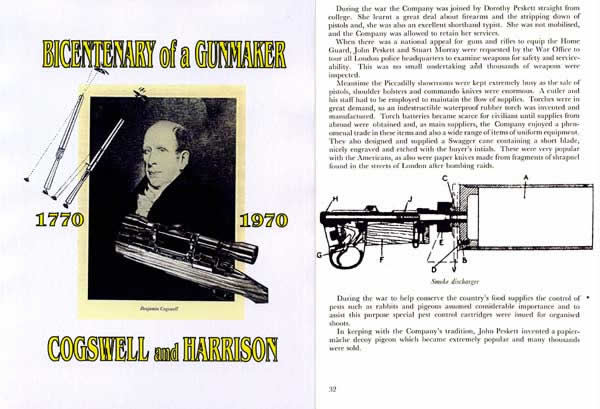 Cogswell & Harrison 1970 Bicentenary of a Gunmaker