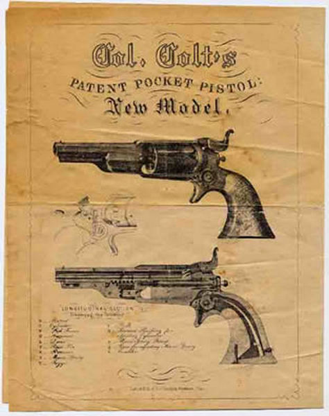 Colt 1855 Roots Pocket Revolver Ad