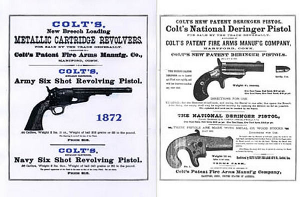 Colt 1872 Fire Arms Mfg.Company Catalog