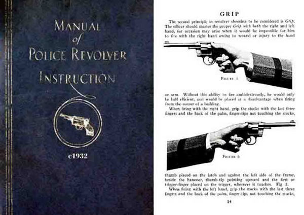 Colt c1932 Manual of Police Revolver Instruction