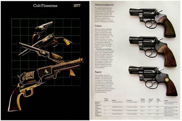 Colt 1977 Firearms Gun Catalog