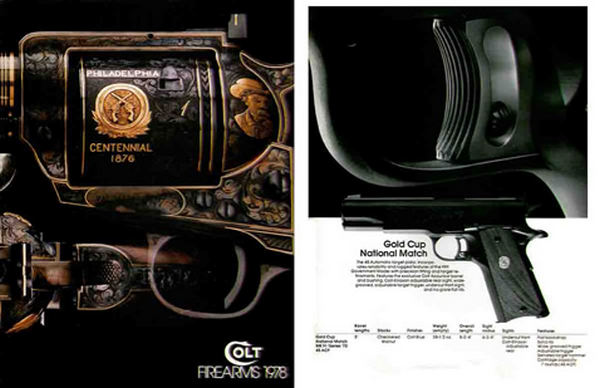 Colt 1978 Firearms Gun Catalog