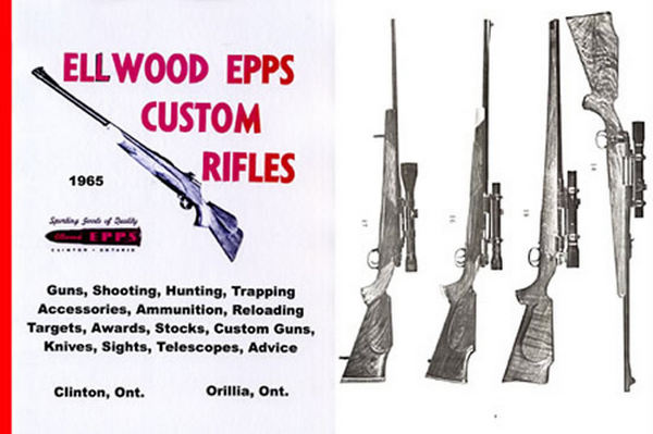 Ellwood Epps Custom Rifles and Gun Supplies 1965 Catalog (Canada)