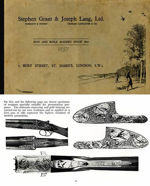 Grant & Lang, Ltd. 1937 Gun Catalog
