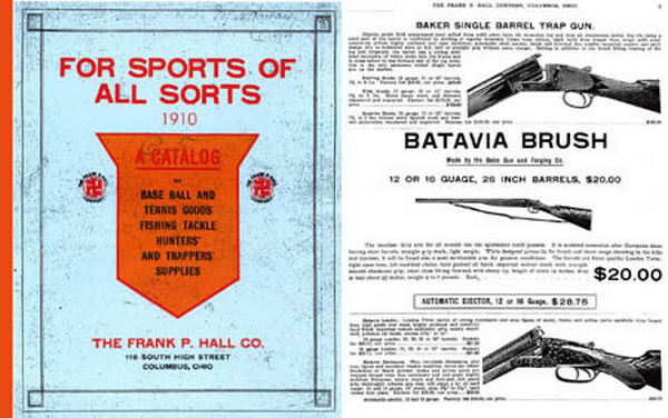 Hall, Frank P. Co. 1910 Gun Catalog (Columbus, Ohio)