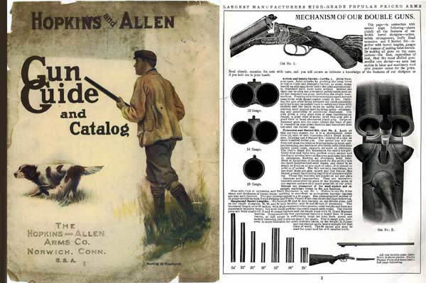 Hopkins & Allen c1905 Gun Guide and Catalog