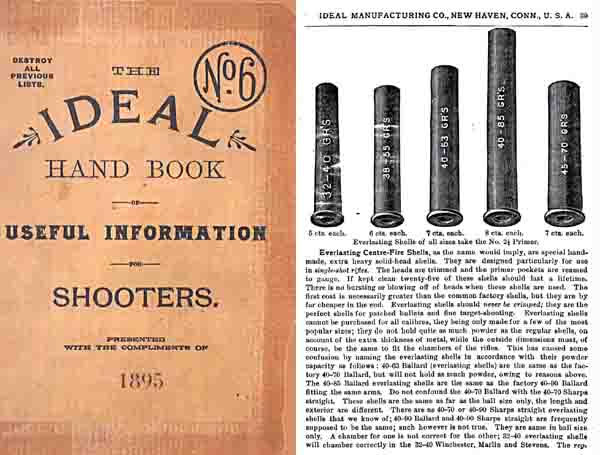Ideal 1895 Handbook for Shooters No.6