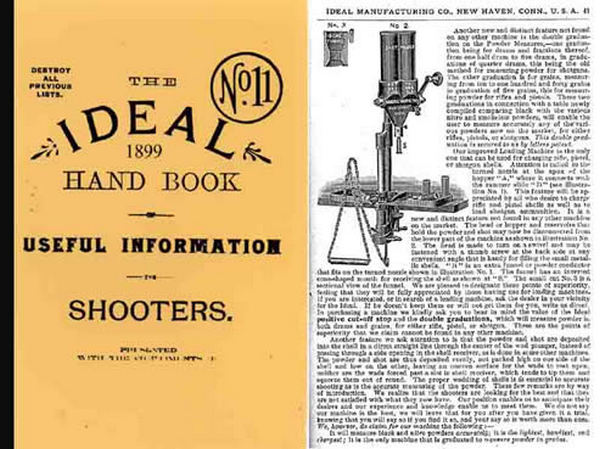 Ideal 1899 Hand Book of Useful Information for Shooters No.11