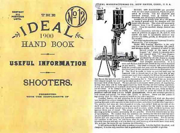 Ideal 1900 Hand Book for Shooters No.12