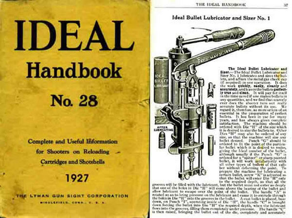 Ideal 1927 Hand Book of Useful Information for Shooters No.28