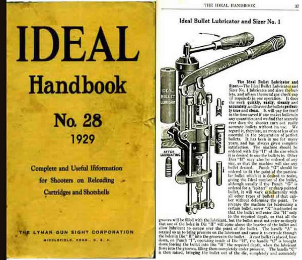 Ideal 1929 Hand Book of Useful Information for Shooters No. 28
