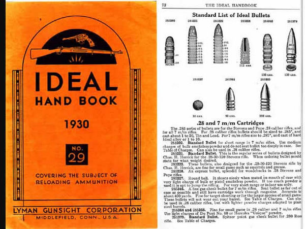 Ideal 1930 Hand Book of Useful Information for Shooters No. 29