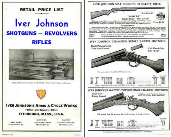Iver Johnson 1936 Catalog