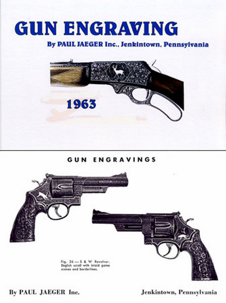 Jaeger Gun Engraving 1963 Catalog