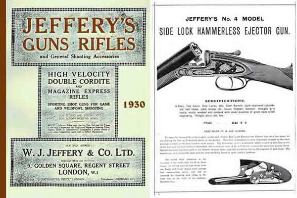 Jeffery 1930 Gun & Rifle Catalog (UK)