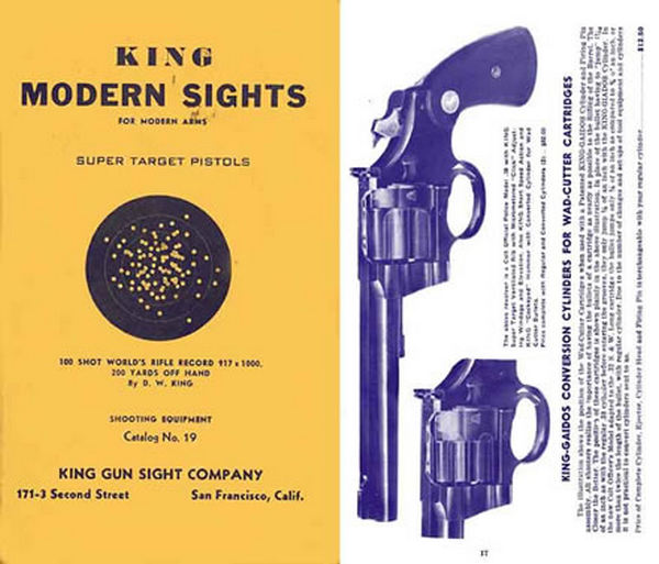 King 1939 Gun Sights Catalog #19