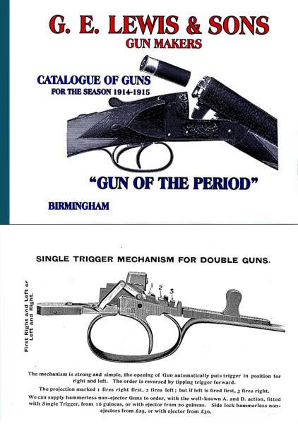 GE Lewis & Sons 1914-15 Gun Catalogue (UK)