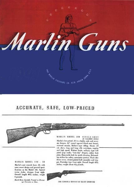 Marlin 1941 Firearms Company Gun Catalog