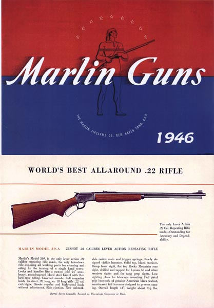 Marlin 1946 Firearms Company Gun Catalog