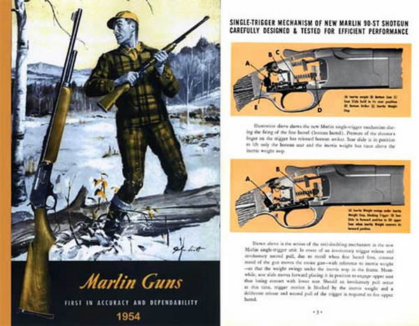 Marlin 1954 Guns Catalog
