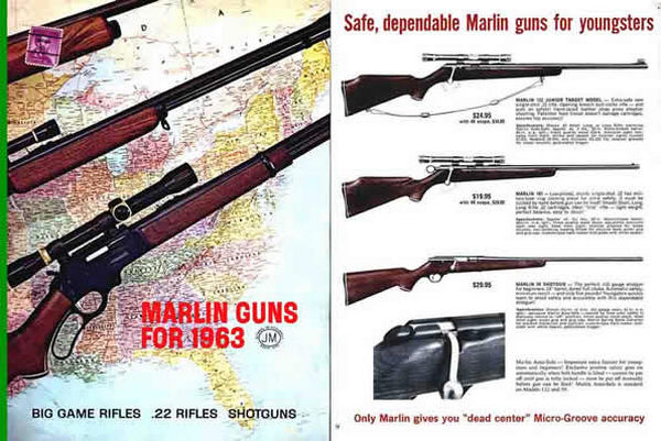 Marlin 1963 Guns Catalog