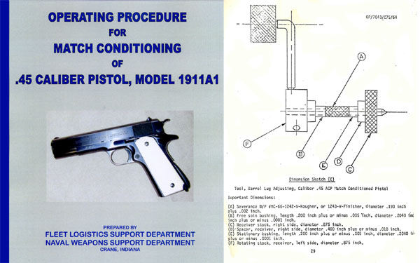 Match Conditioning the 1911A1 Automatic Handgun