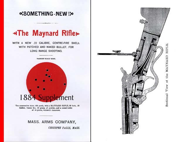 The Maynard Rifle Supplementary Catalog 1884