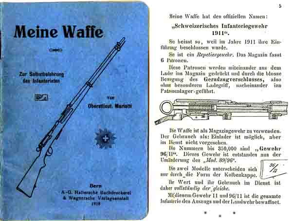 Meine Waffe (My Weapon - Swiss, in German) 1918