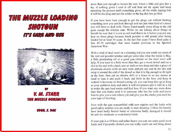 V. M. Starr's The Muzzle Loading Shotgun