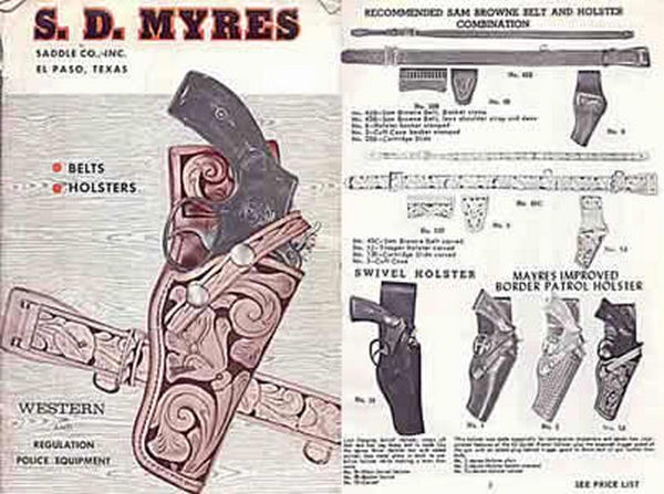 S. D. Myres Leather Company 1966 Catalog