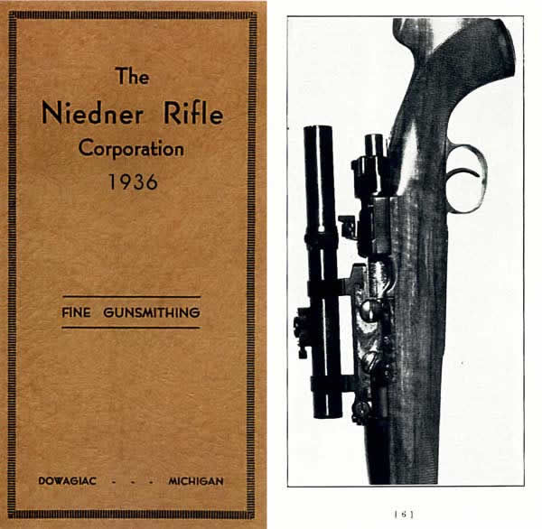 Niedner Rifle Corporation 1936 Catalog