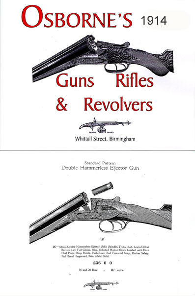 Charles Osborne - Guns, Rifles & Revolvers 1914 (UK)