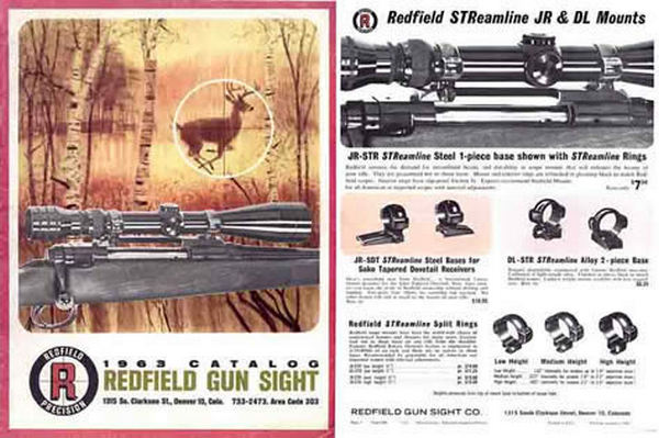 Redfield 1963 Gun Sight Catalog (Denver, CO) - Picture 1