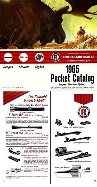 Redfield 1965 Gun Sight Company Catalog (Denver, CO)