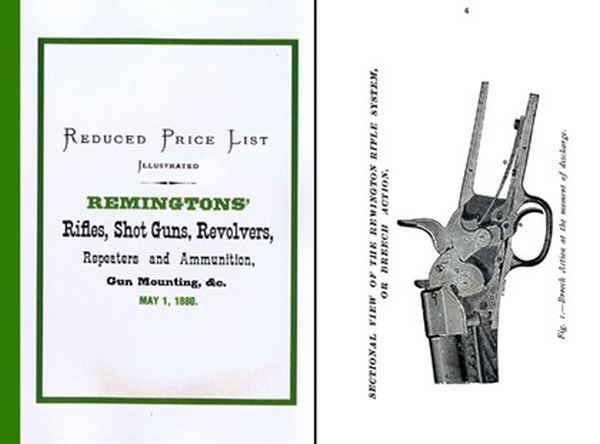 Remington 1880 Arms Rifles, Guns & Revolvers Catalog (Long)