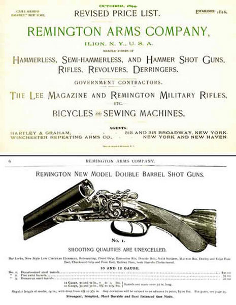 Remington 1894 Arms Company Catalog