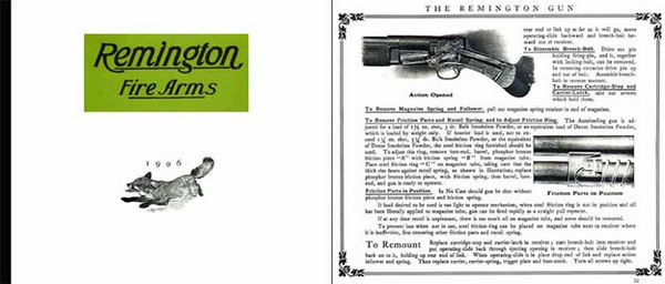 Remington 1906 Firearms Catalog