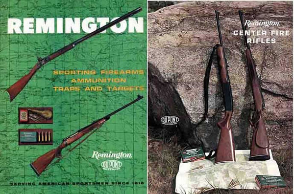 Remington 1962 Sporting Firearms Catalog