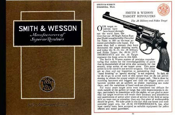 Smith & Wesson 1936 80th Anniversary Catalog