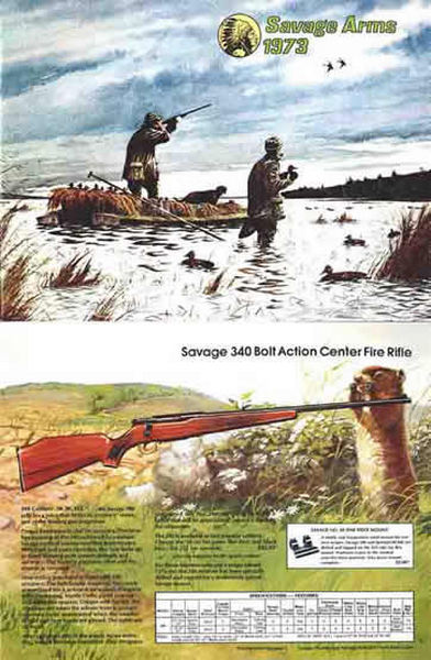 Savage 1973 Arms Catalog