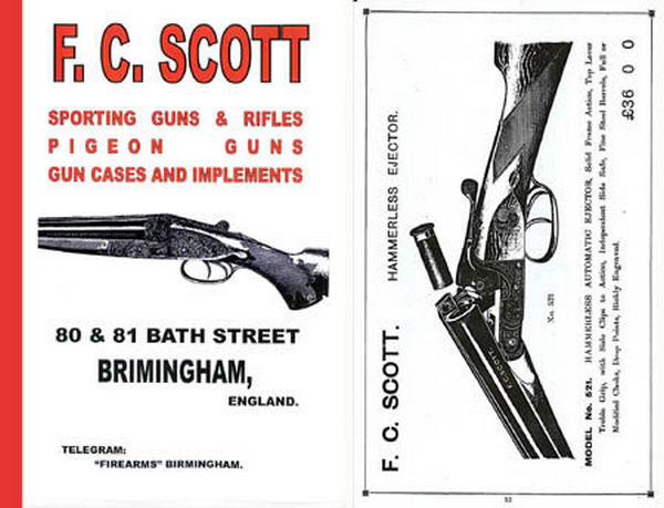 Scott, FC List No #6 1910 Gun Catalog