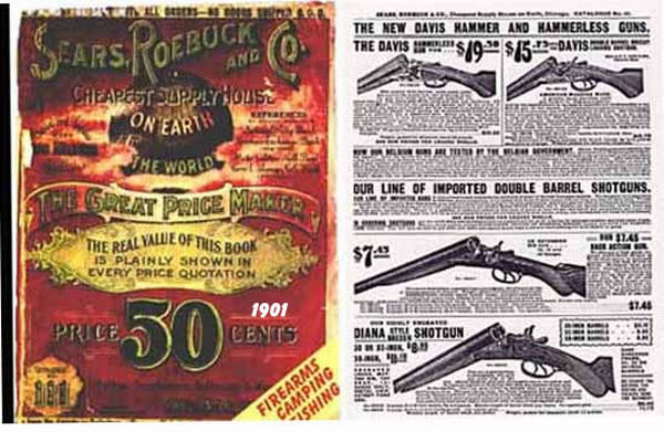 Sears, Roebuck & Co. 1902 Gun & Accessory Catalog