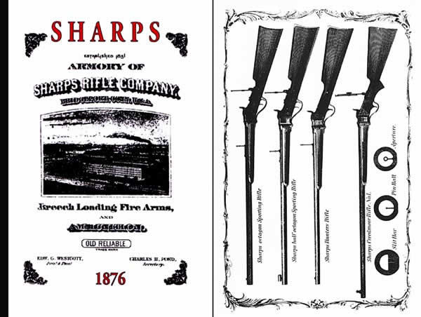 Sharps Rifle 1876 Catalog - Picture 1