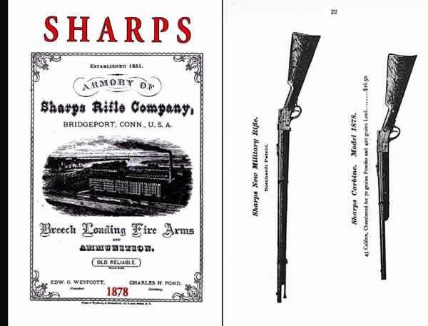 Sharps Rifle 1878 Catalog